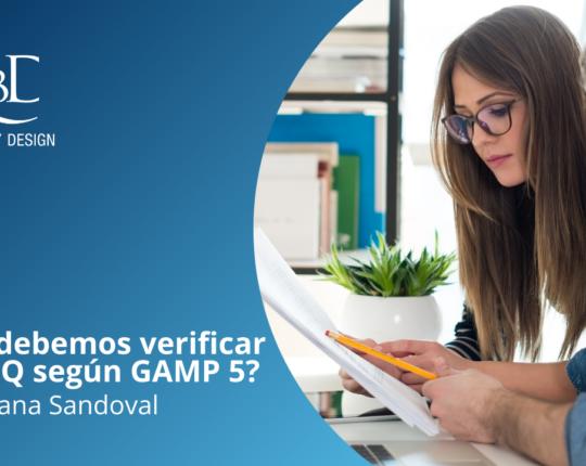 ¿Qué debemos verificar en el IQ según GAMP 5?