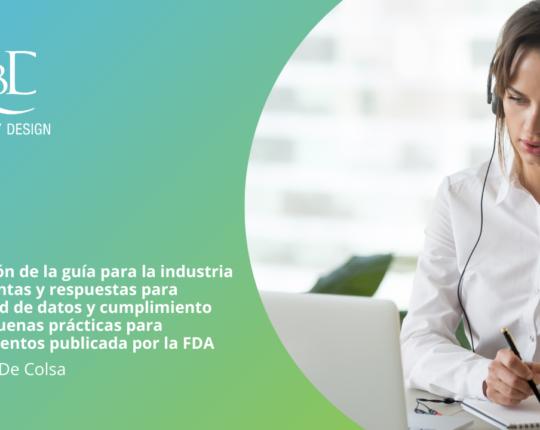 Traducción de la guía para la industria de preguntas y respuestas para integridad de datos FDA