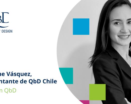Geraldine Vásquez, representante de QbD Chile