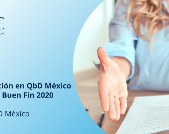 Promoción en QbD México en este Buen Fin 2020