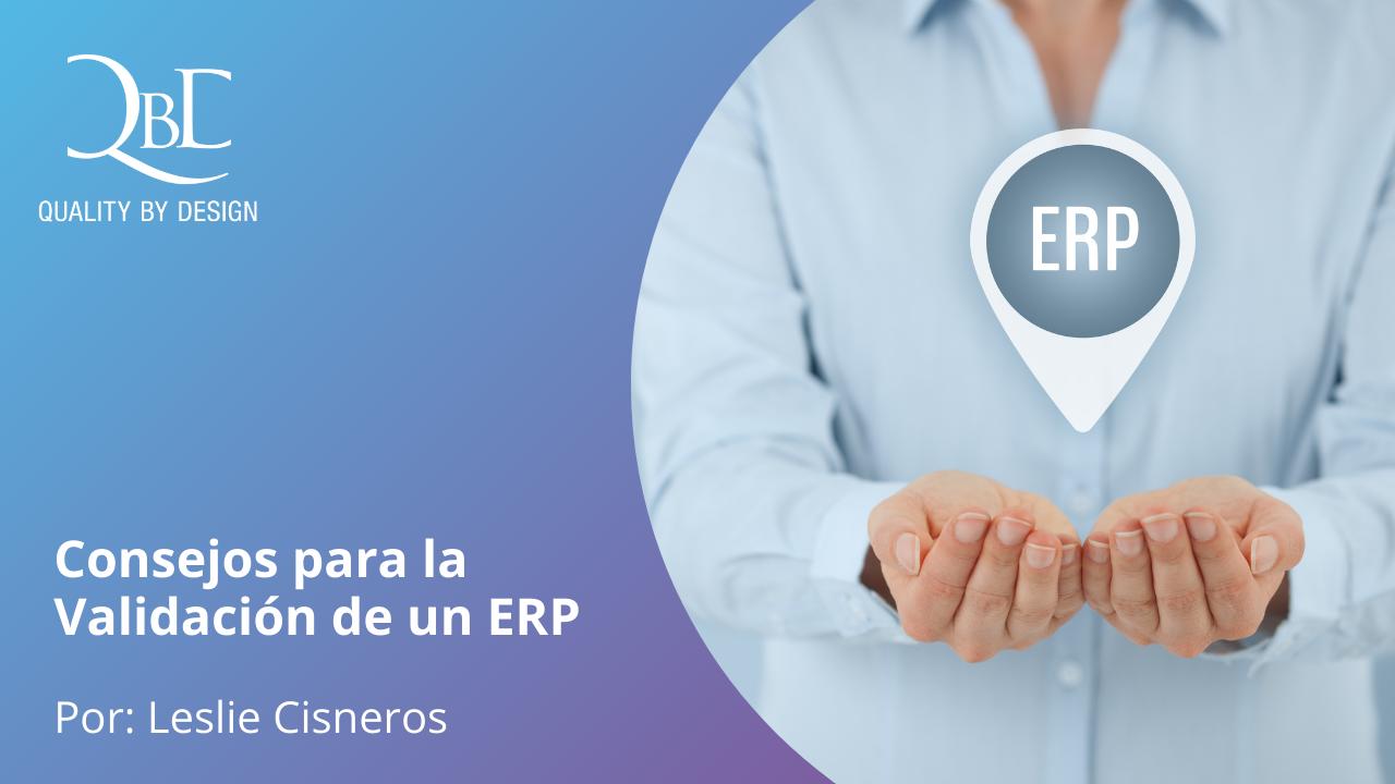 Consejos para la Validación de un ERP