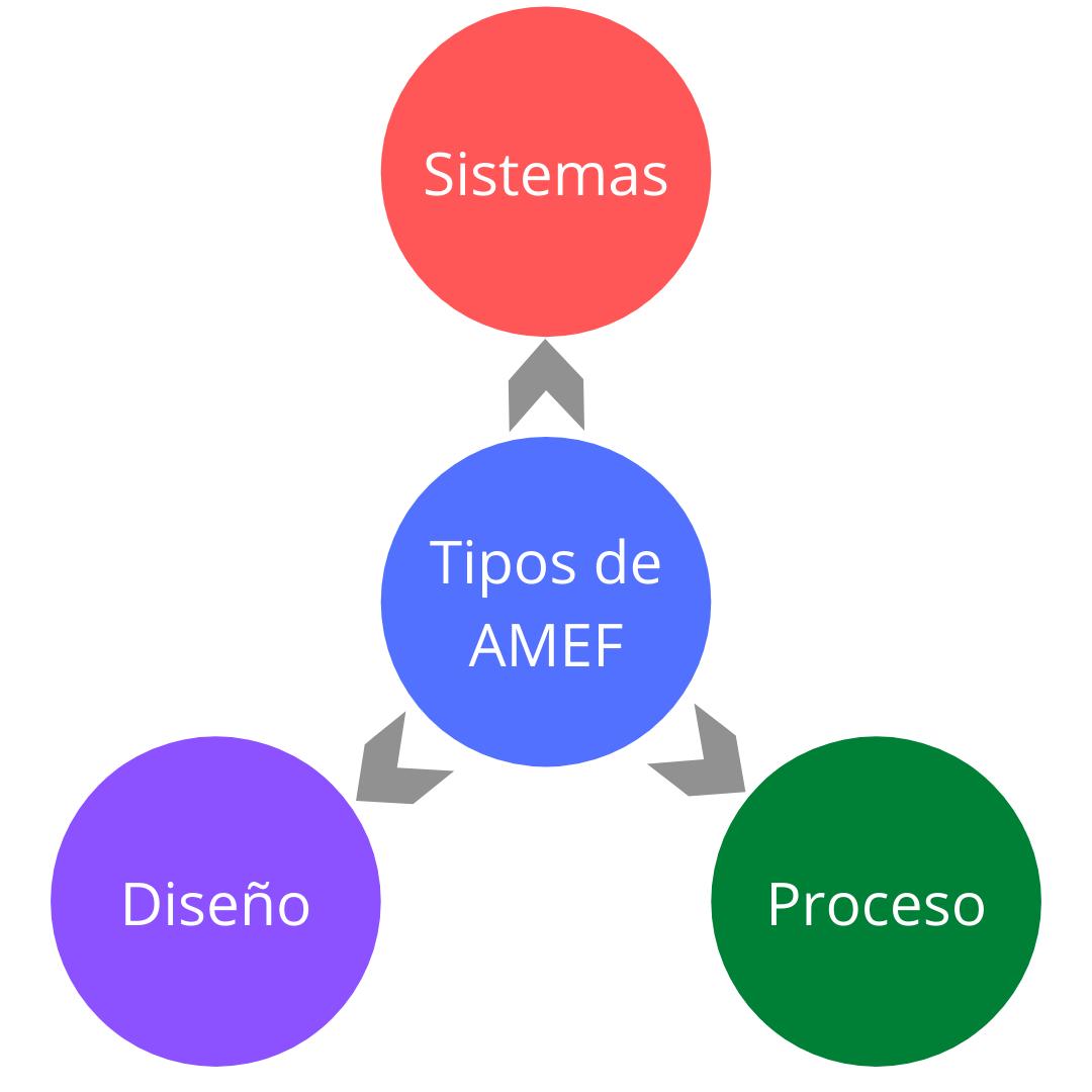TIPOS DE AMEF