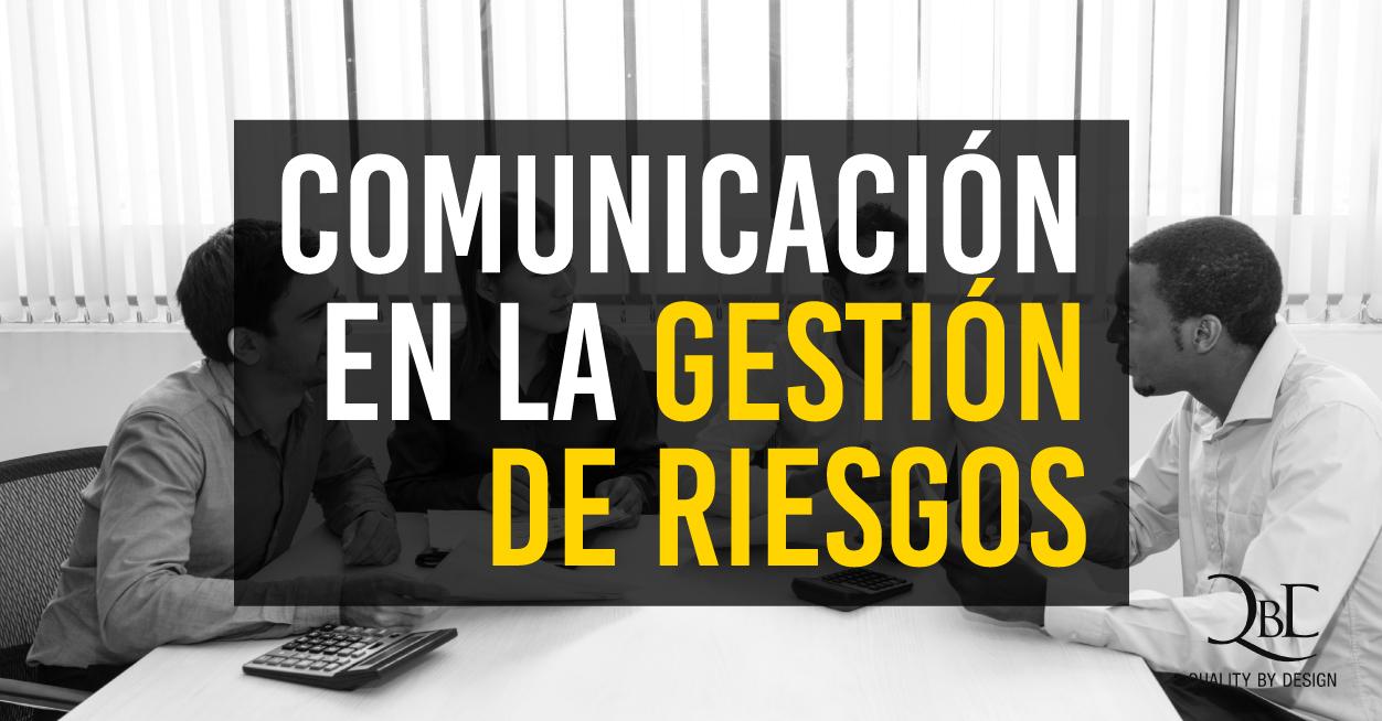 Comunicación en la gestión de riesgos