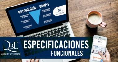 especificaciónes funcionales